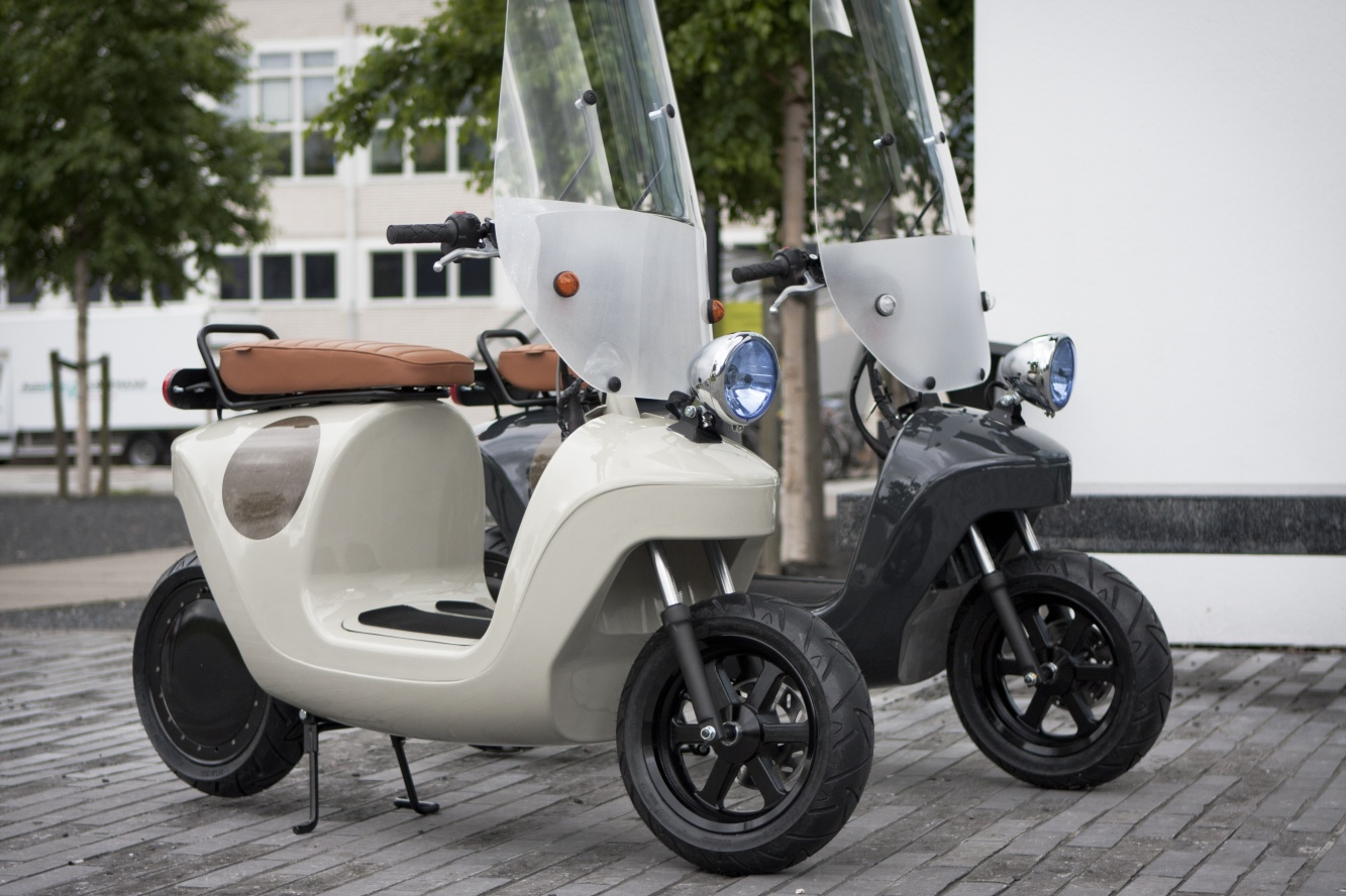 Be.e scooter van Waarmakers