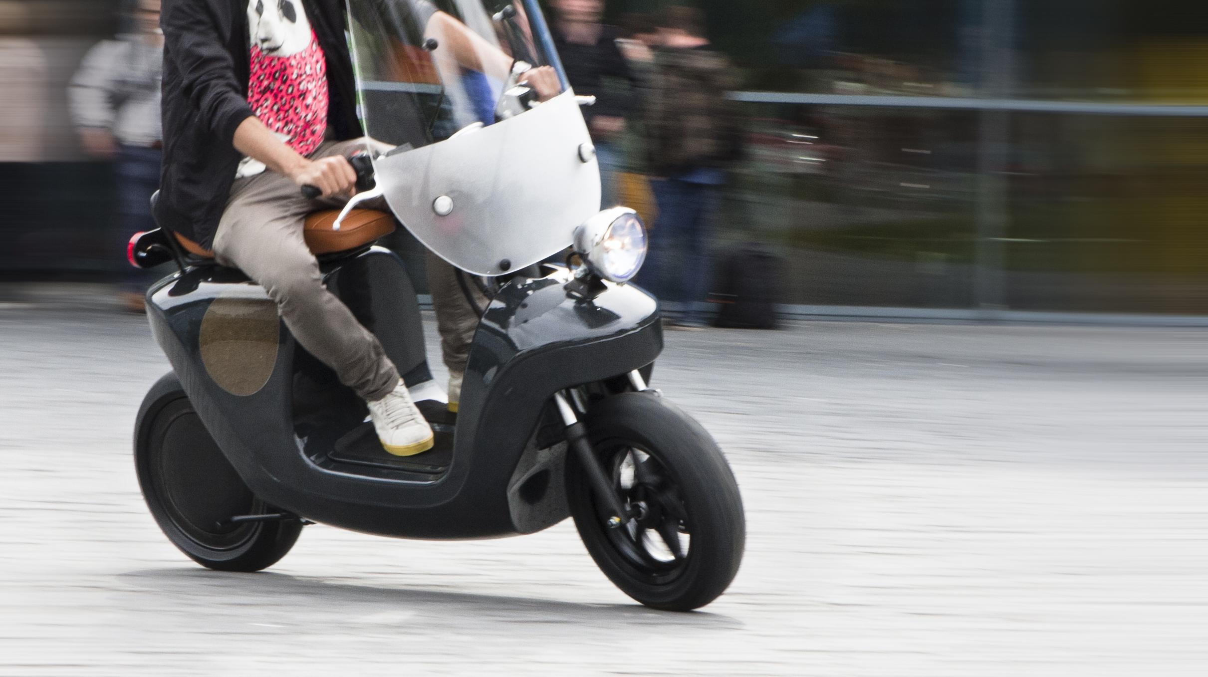 Be.e scooter van planten van Waarmakers