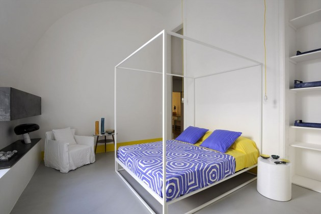 Capri Suite Zeta studio architects slaapkamer