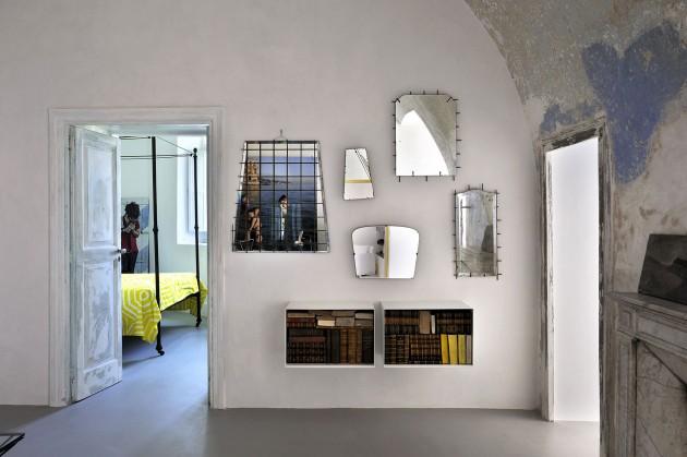 Capri suite by Zeta Studio Italy mirrors