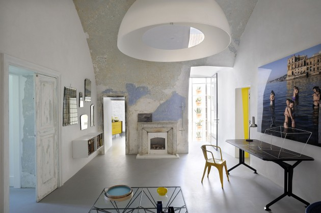 Capri suite wit zwart geel blauw Italie