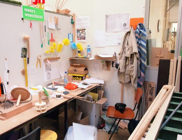 Chaos op werkplek Mieke Billekens