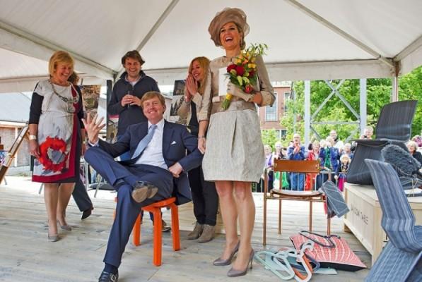 Chubby Chair Dirk van der Kooij Koning Willem Alexander Koningin Maxima