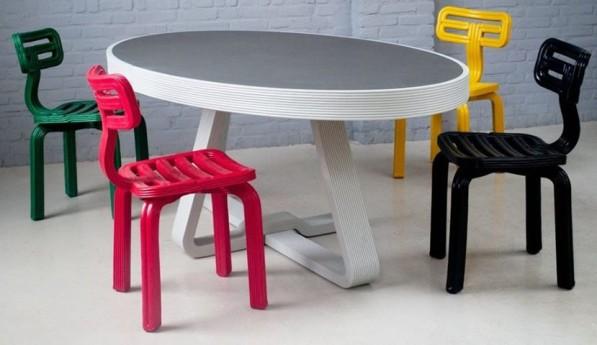 Chubby stoelen 3D printen Dirk van der Kooij
