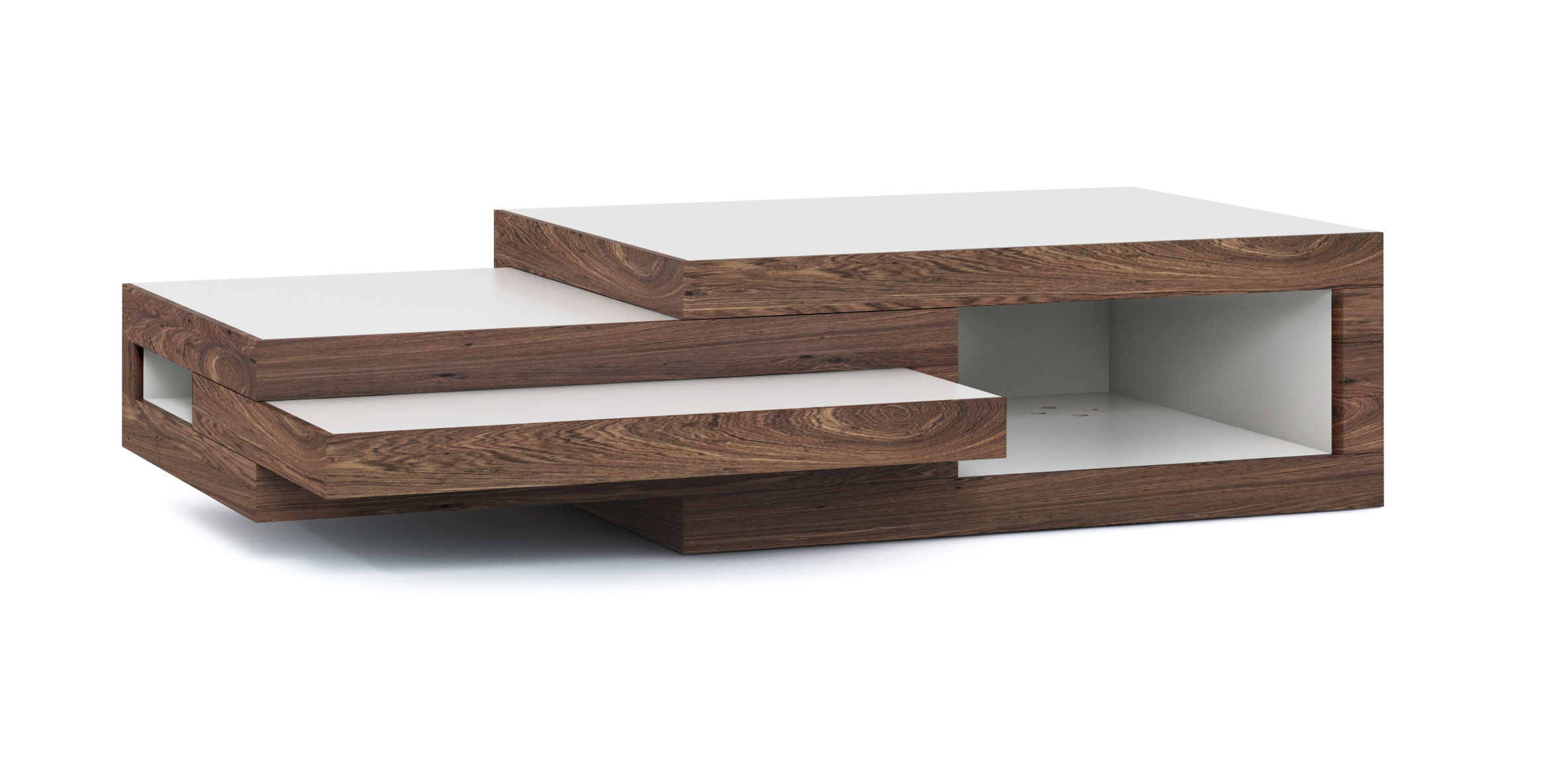 Coffee Table REK Walnut Wood STILST---Gimmii shop