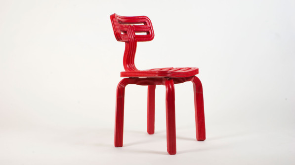 Dirk van der Kooij 3dprint robot Endless Chubby chair