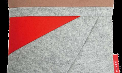 Fields kussen uit collectie Min 4.0 meter NAP van Manon Garritsen