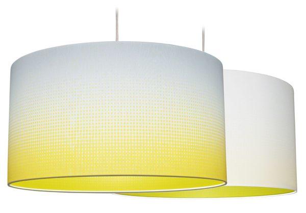 Hanglamp Mist geel recht – Marc Th. van der Voorn