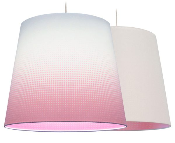 Hanglamp Mist roze taps – Marc Th. van der Voorn