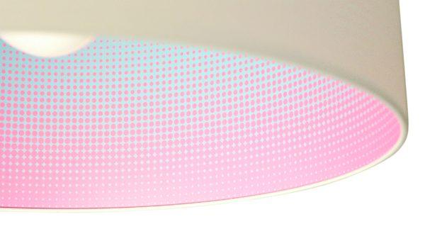 Hanglamp Mist roze:blauw- Marc Th. van der Voorn