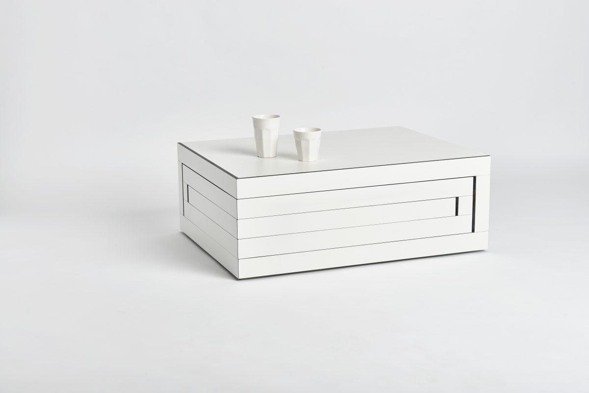 REK salontafel by STILST wit-zwart – Gimmii