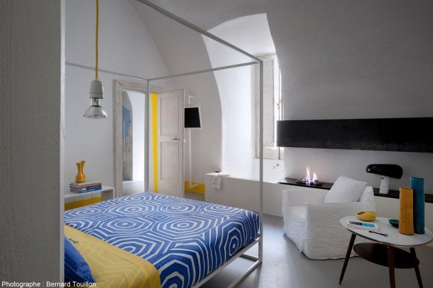 Capri apartement Zeta architects bedroom