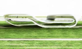 3D geprinte woning Landscape house Janjaap Rijssenaars Universe Architecture