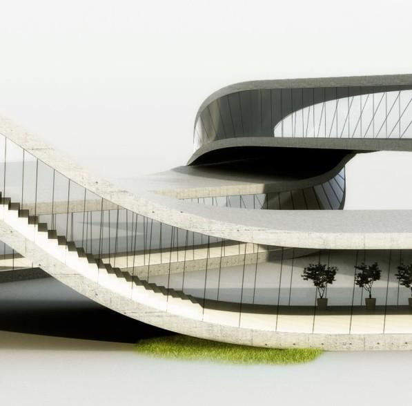 3D printen Landscape house Janjaap Ruijssenaars