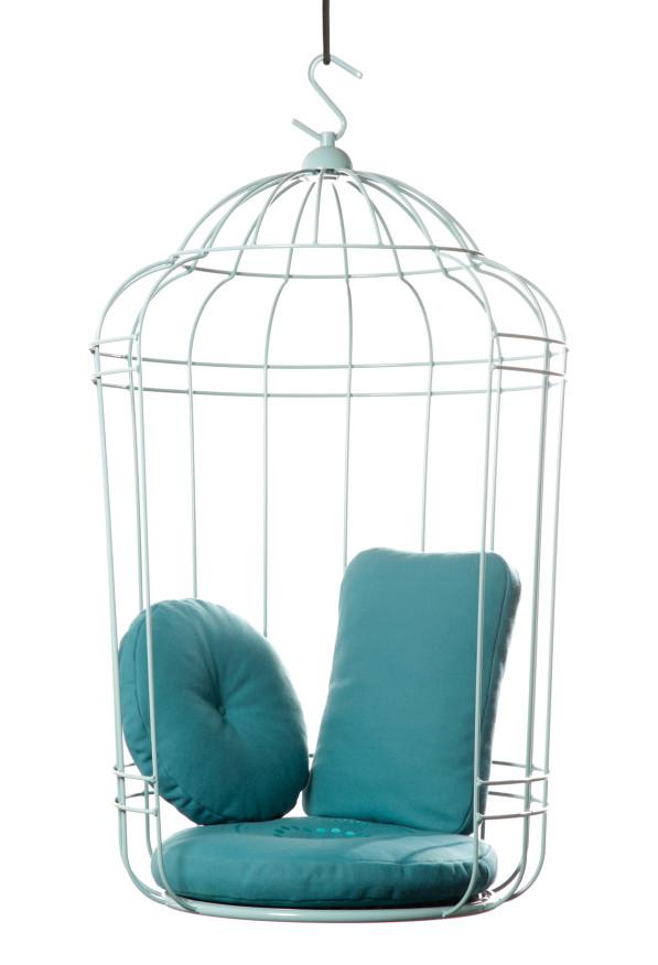 Cageling hangstoel - Ontwerpduo ultiem ontspannen indoor en outdoor