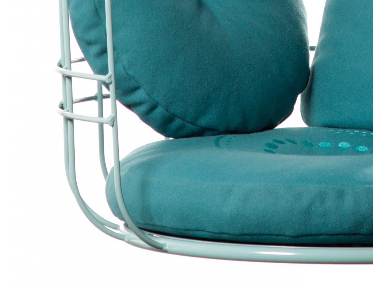 Hangstoel Cageling – Ontwerpduo kussens