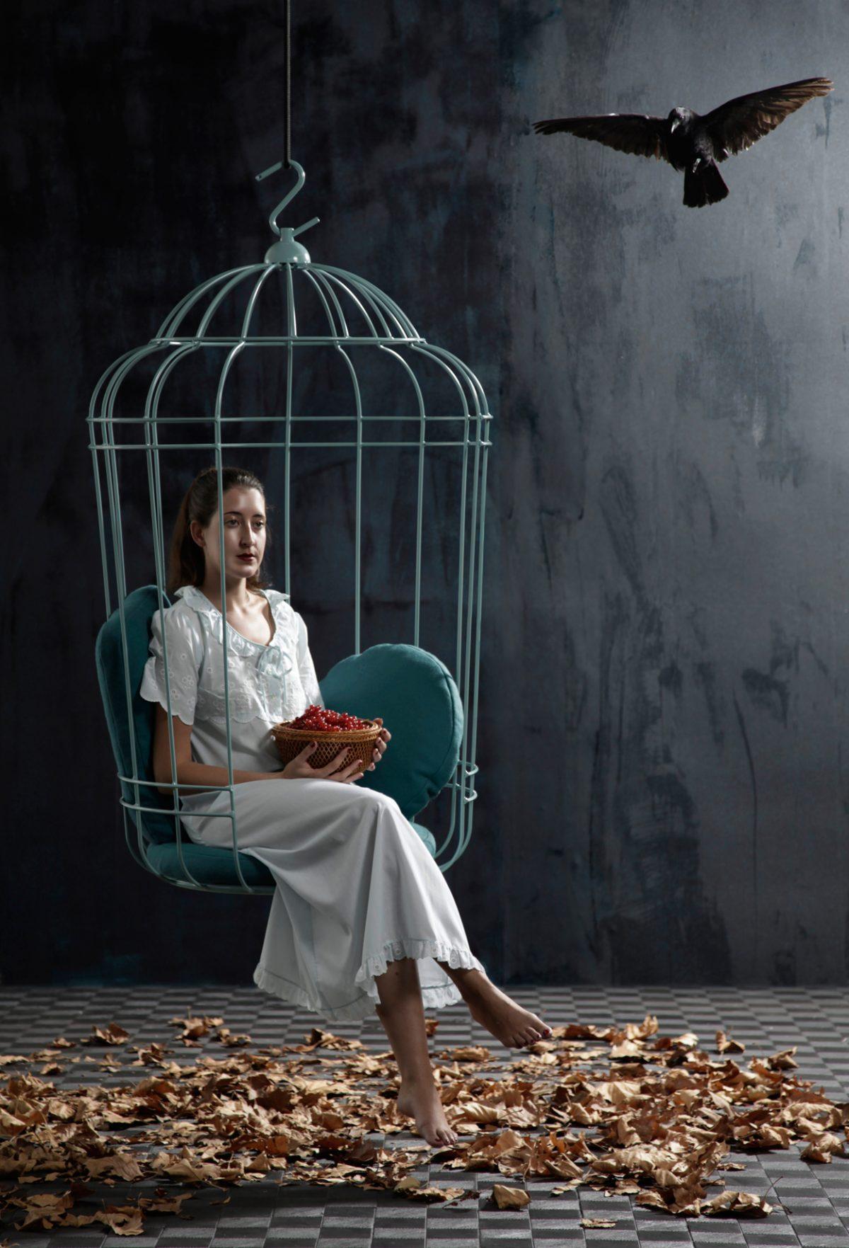 Cageling hangstoel – Ontwerpduo hanging chair