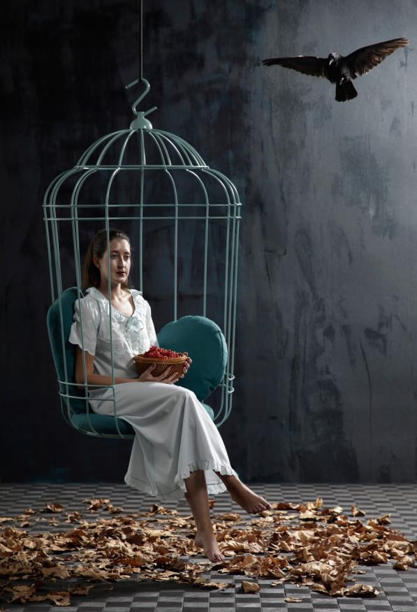 Cageling hangstoel - Ontwerpduo