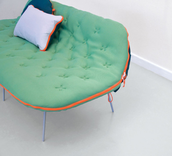 Camp daybed Stephanie Hornig fluor accent