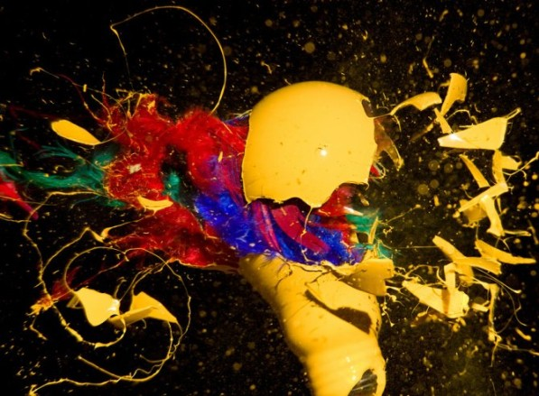 Exploderende peertjes foto John Smith