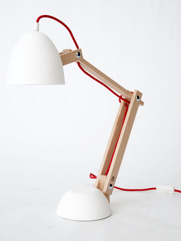 Helmut lamp wit -M.oss design