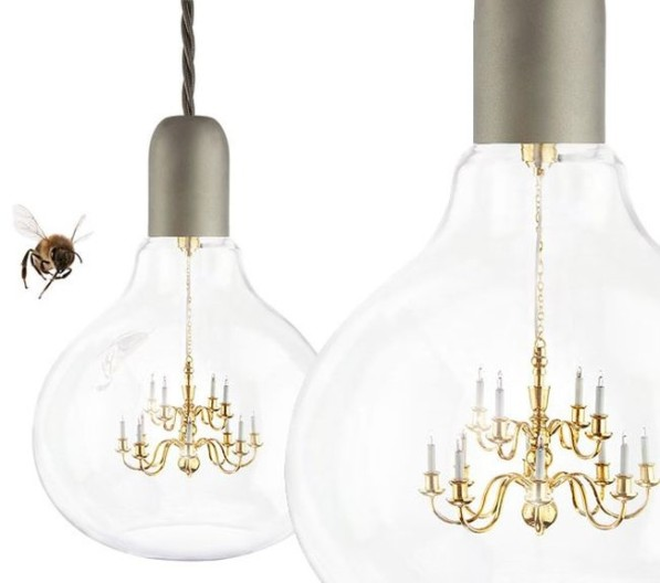 King Edison Lamp kroonluchter glas Gimmii
