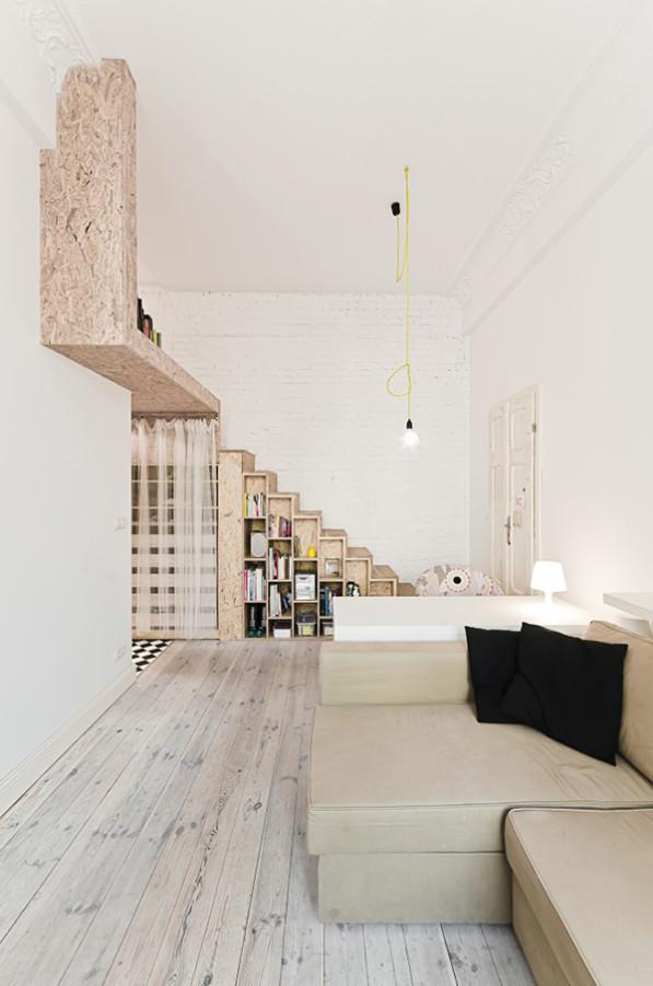 Kleine ruimte 29 m2 appartment 3xAarchitects