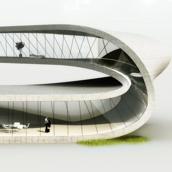 Landscapehouse Universe Architecture 3D printing