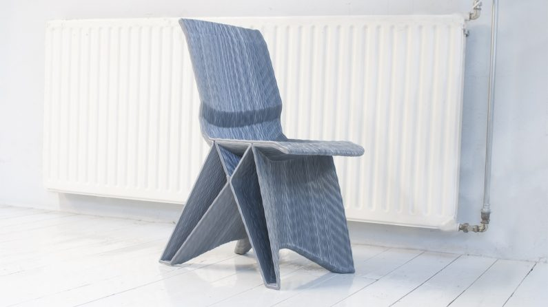 Pulse low chair – blended kleur – Dirk van der Kooij