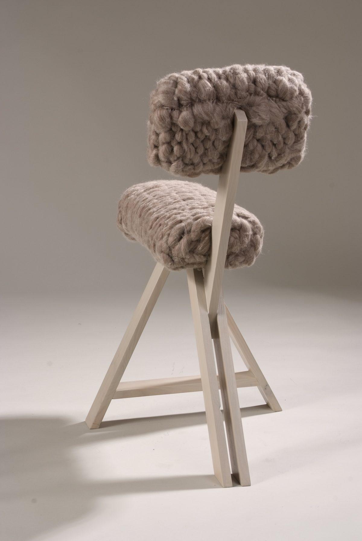 Sheep Chair Grijs – Jolanda van Goor