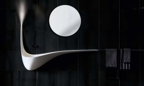 Sierlijke wastafel Wing Falper Ludovico Lombardi