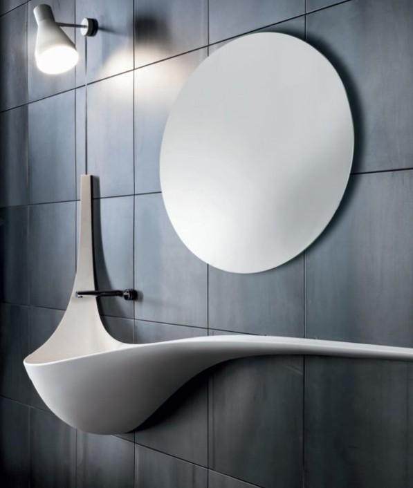 Luxe wastafel Wing Falper luxe badkamer