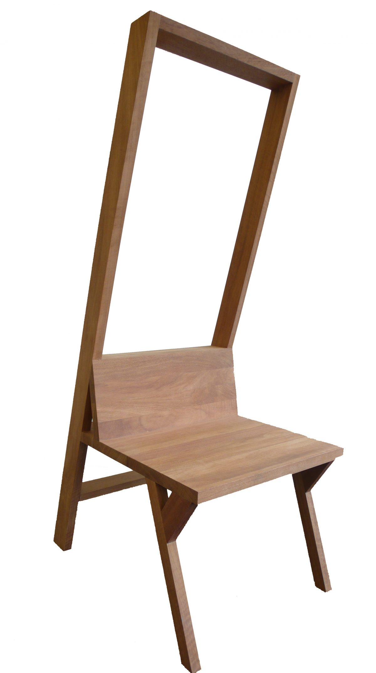 Stepladder chair schuin voor -Jolanda van Goor