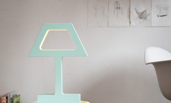 The Missing bulb tafellamp modern