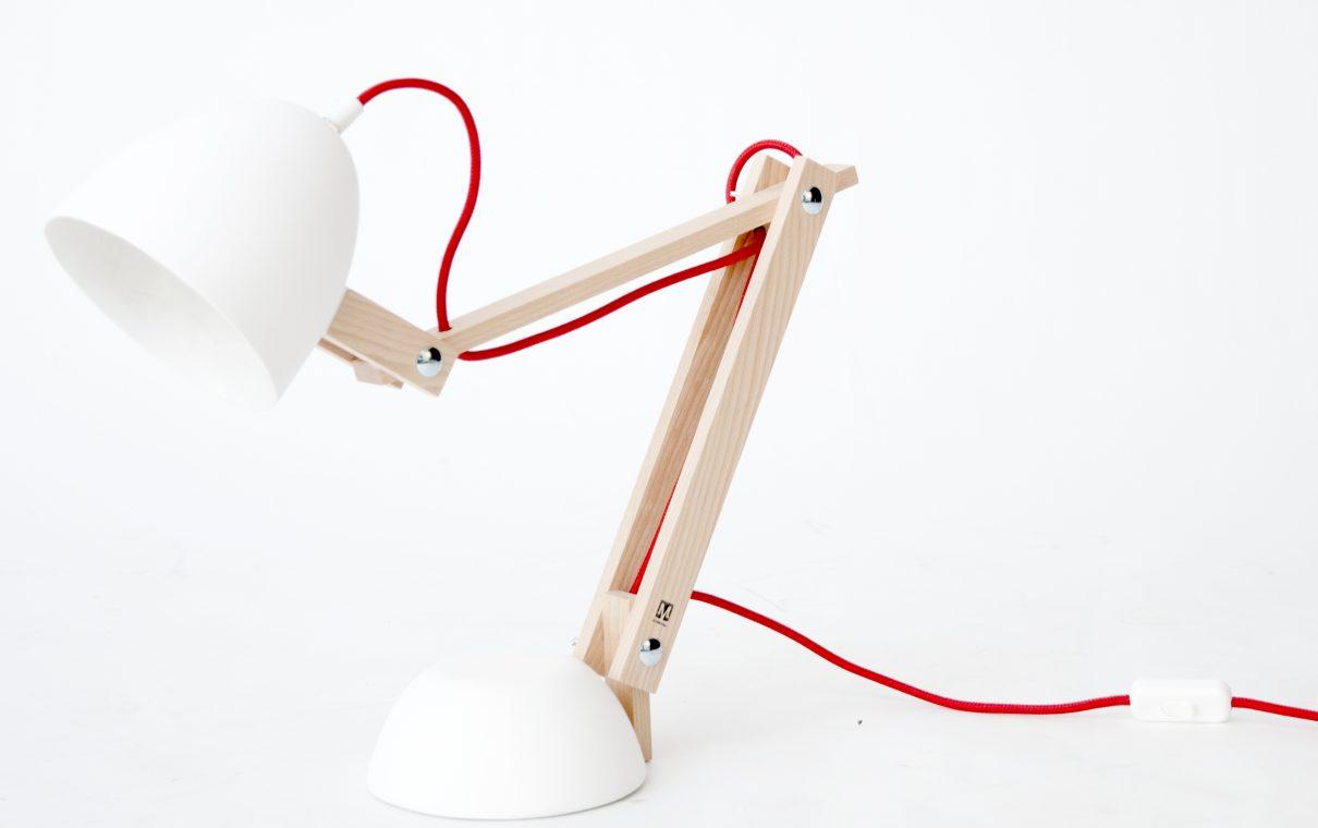 Heerlijke Helmut lamp van M.OSS design