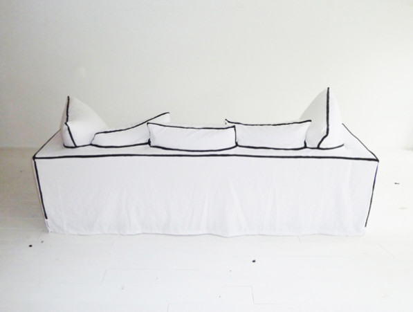 My Couch, My Canvas bank van Annebet Philips