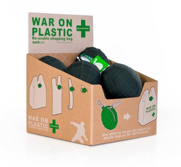 plastic tas granaat Greenaid