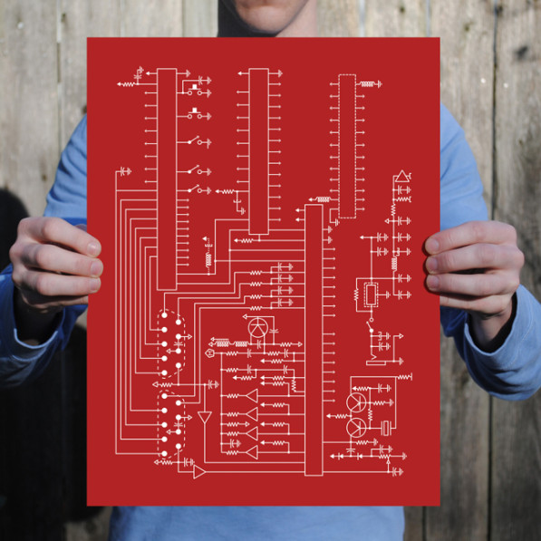 Atari grafische prints
