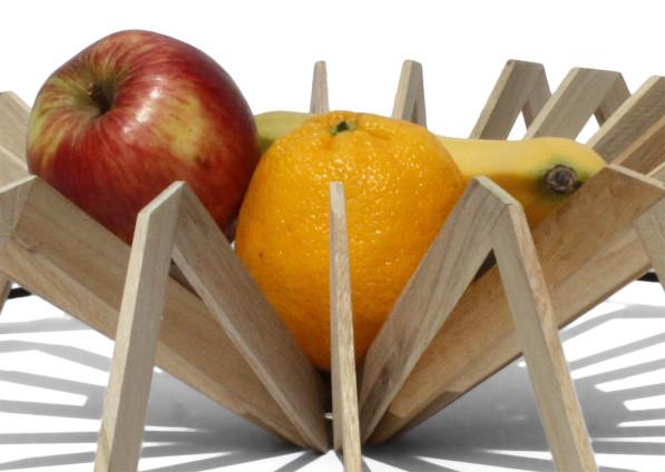 Fruitschaal SCALE detail 01 hout - Josje Schut