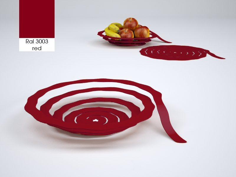 Fruitskin fruitschaal rood – Wouter Biegelaar
