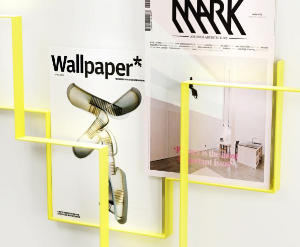 Guidelines tijdschriftenrek geel - Frederik Roijé
