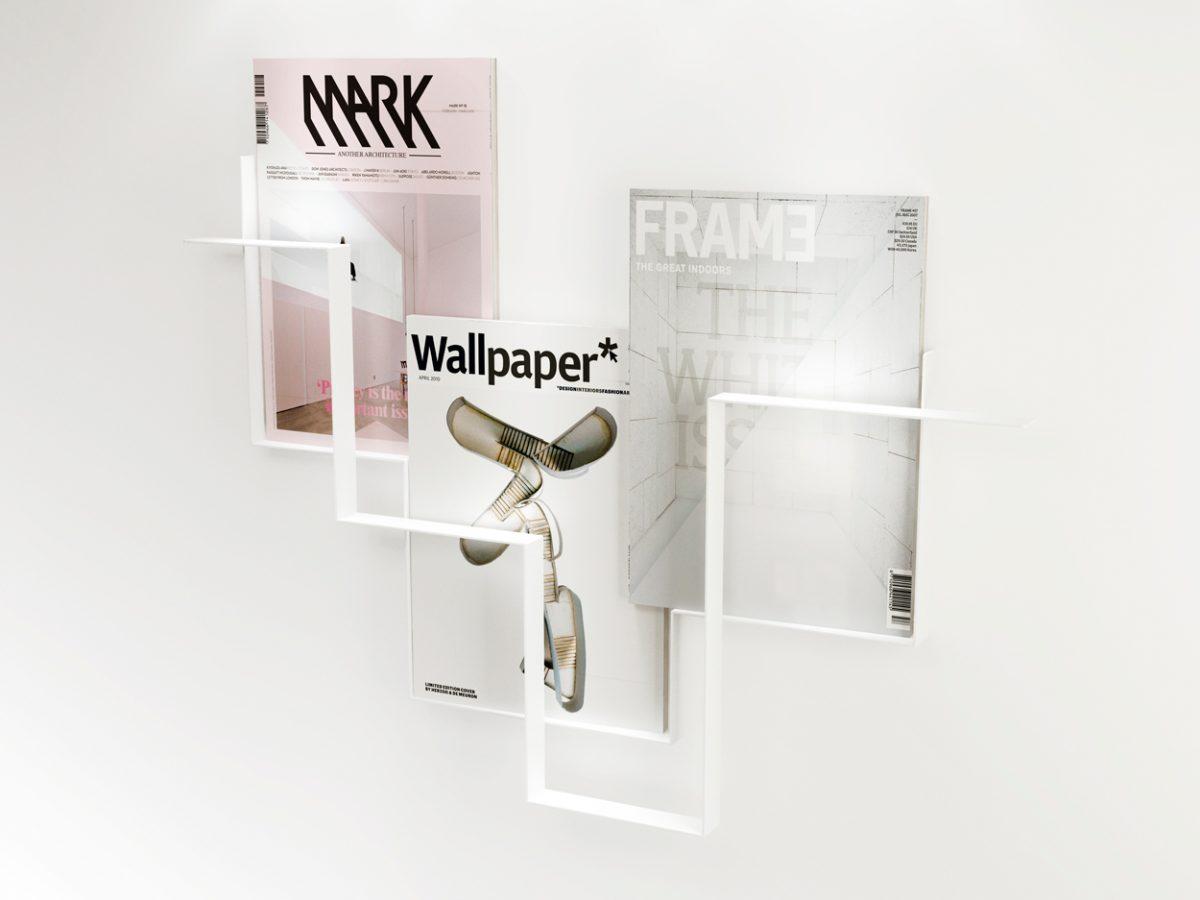 Guidelines tijdschriftenrek wit – Frederik Roijé
