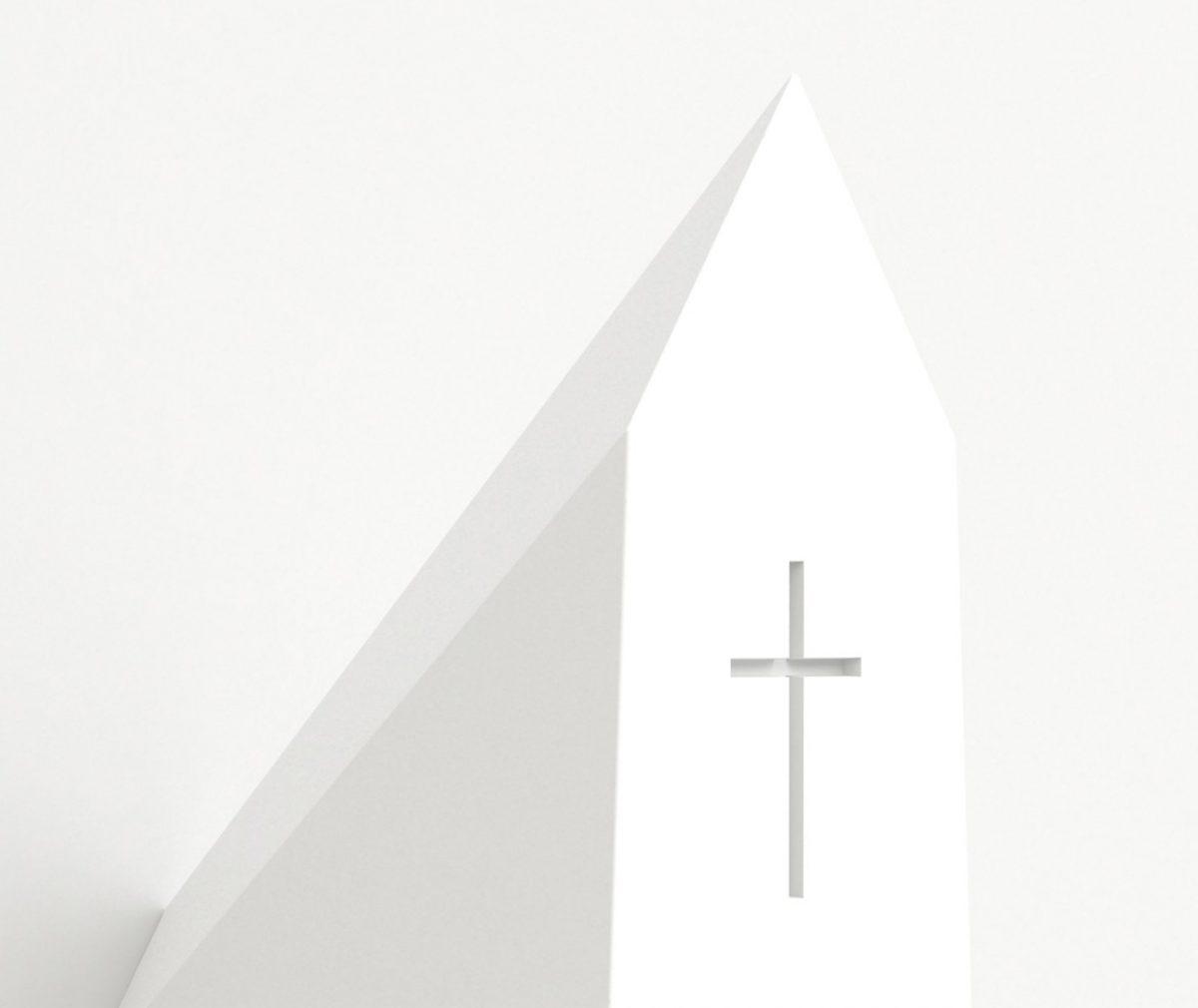 Holy Homes vogelkerk wit – Frederik Roijé