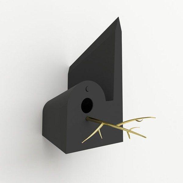 Holy Homes vogelmoskee zwart – Frederik Roijé