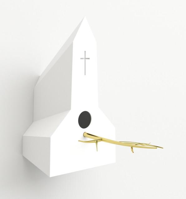 Witte vogelkerk - Frederik Roijé