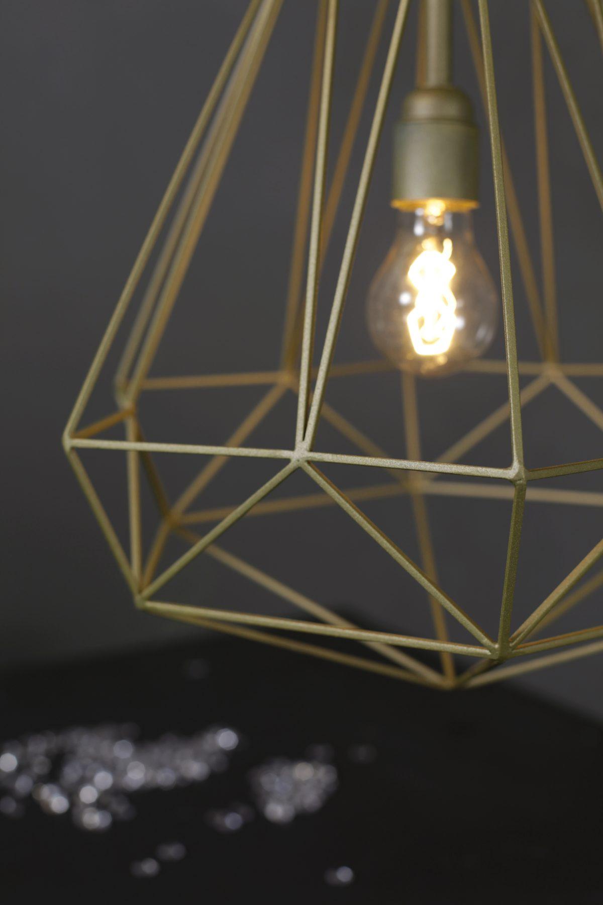 JSPR – Diamonds hanglampen serie goud