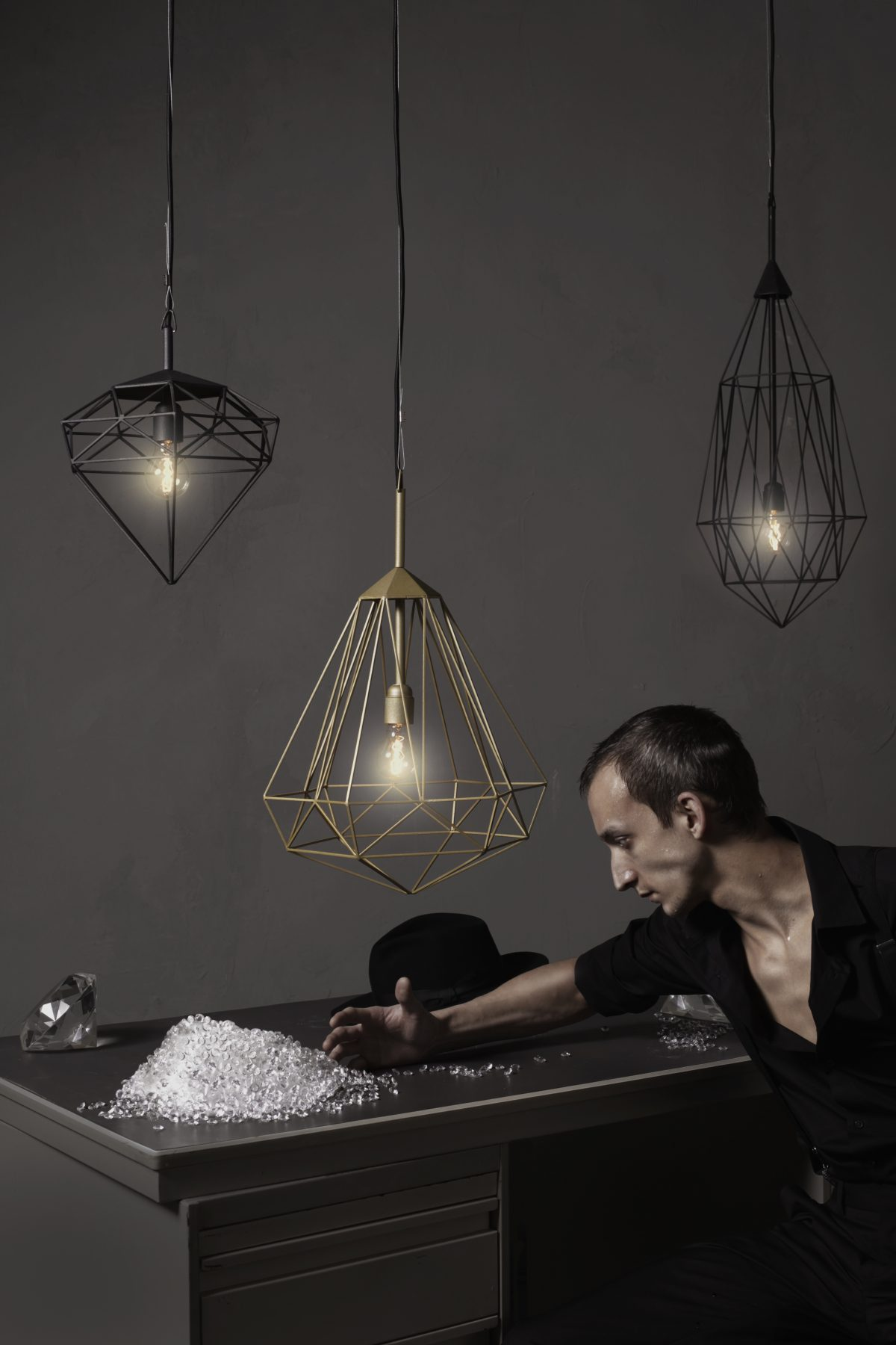 JSPR – Diamonds hanglampen serie