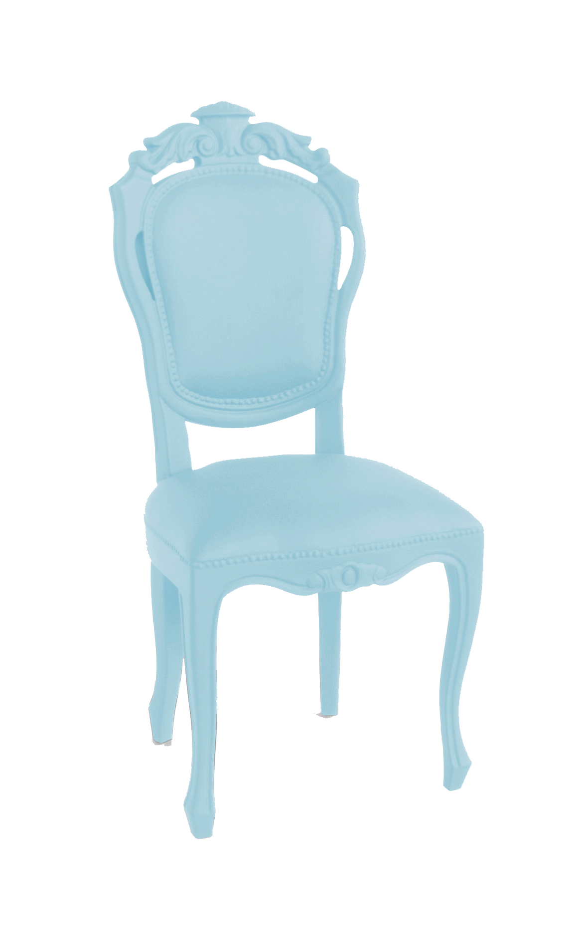 JSPR – Plastic Fantastic – Dining Chair – Soft Blue