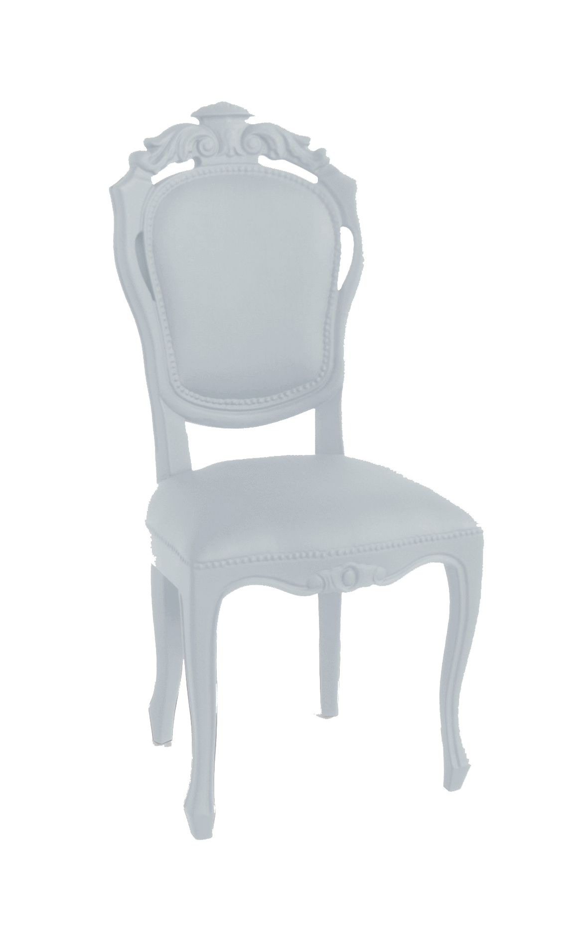 JSPR – Plastic Fantastic – Dining Chair – Soft Grey