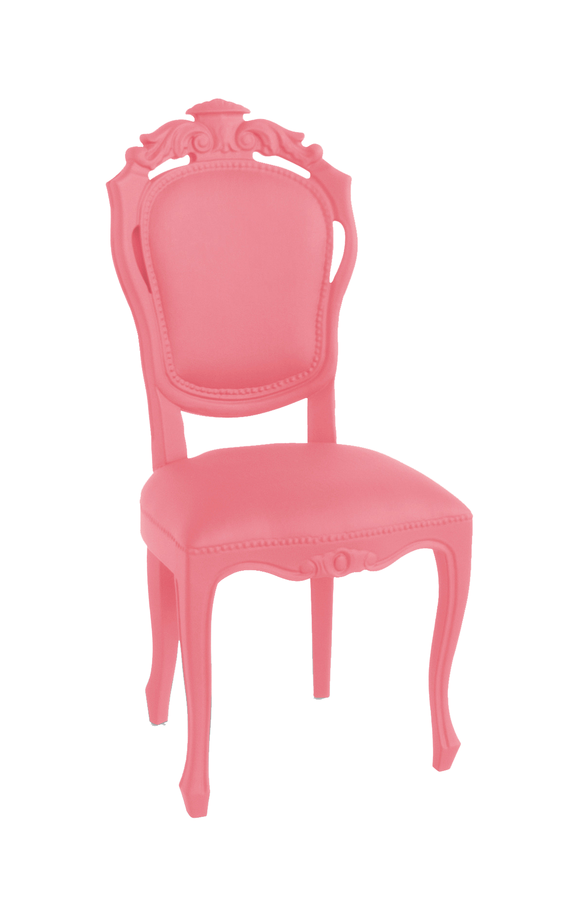 JSPR Plastic Fantastic Dining Chair Soft Pink